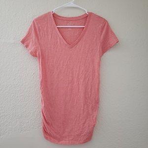 Maternity Short Sleeve VNeck TShirt XS